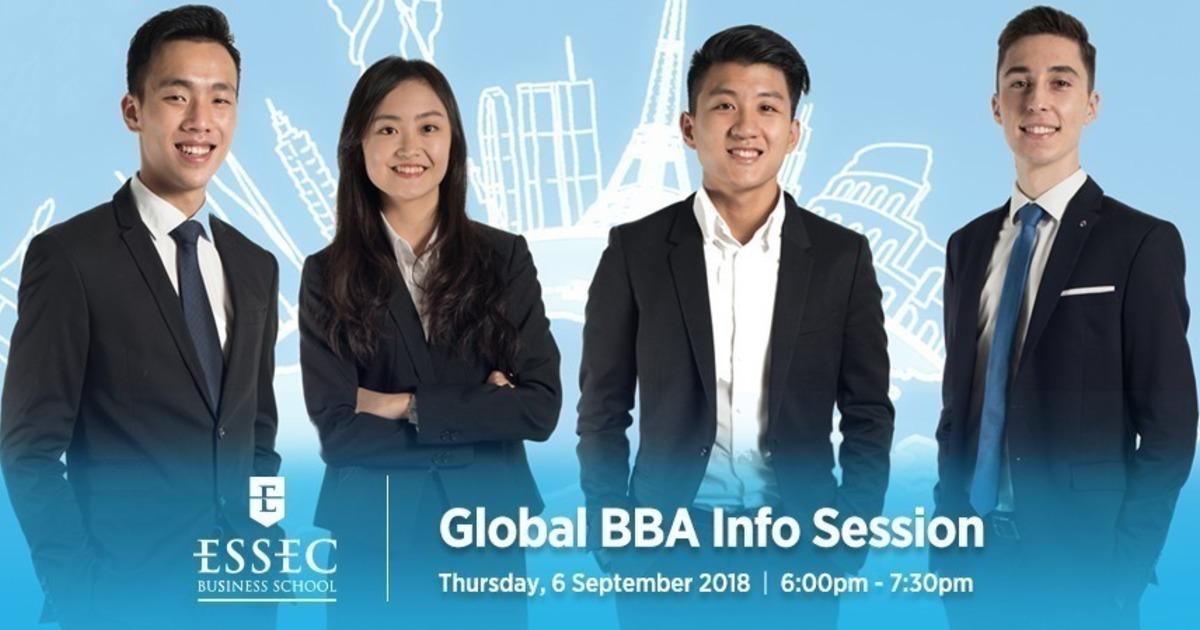 ESSEC Global BBA Infosession · Eventil