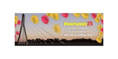 WarsawJS #25 - 2 urodziny image