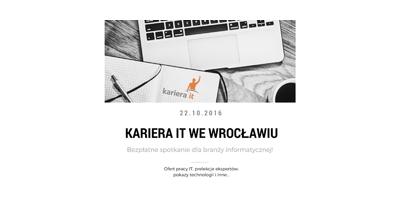 Kariera IT we Wrocławiu  image