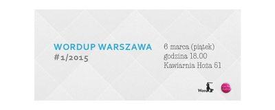 WordUp - Warszawa wiosna image