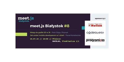 meet.js Białystok #8 - spotkanie front-endowe! image