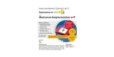 Meet IT vol. 15 w Katowicach image