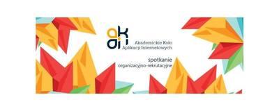 Spotkanie organizacyjno-rekrutacyjne AKAI image