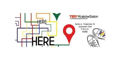 TEDxKrakówSalon - HERE image