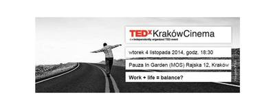 TEDxKrakówCinema - November image