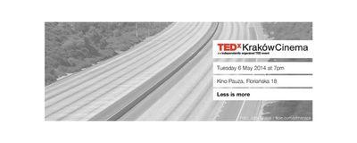 TEDxKrakówCinema - Maj image