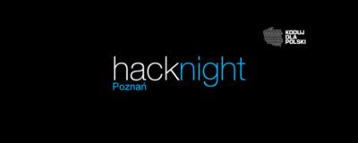XXI Poznański Hacknight Koduj dla Polski | Centrum Amarant image