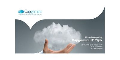Capgemini It T@lk - Cloud computing (Opole) image