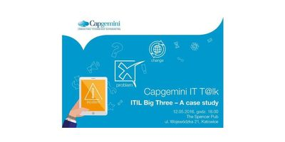 Capgemini IT T@lk - ITIL Big Three - a case study image