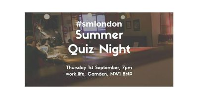 The #smlondon Summer Quiz Night 2016 image