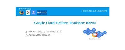 Google Cloud Platform Roadshow Hanoi image
