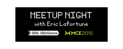 Meetup Night with Eric Lafortune image