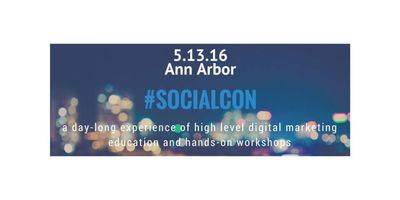 Ann Arbor #SOCIALCON | A Social Media Education Experience image