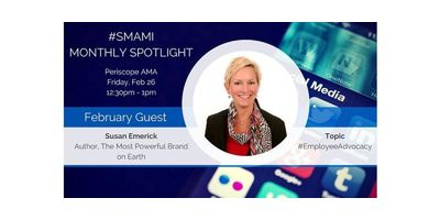 Employee Advocacy AMA w/ Featured Guest Susan Emerick image