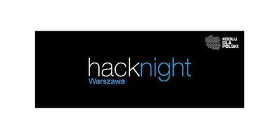 65 - ty Warszawski Hacknight - nowe projekty i aktualności image