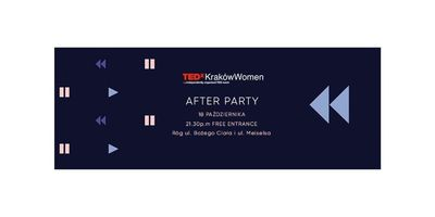 After Party / TEDxKrakówWomen / Feel invited image