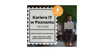 Kariera IT w Poznaniu - bezpłatne spotkanie branży IT image