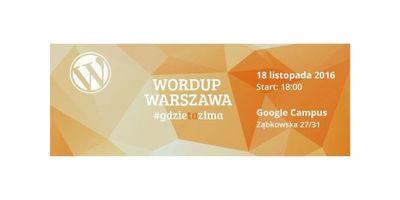 WordUp Warszawa #gdzietazima image