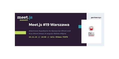 Meet.js #19 Warszawa image