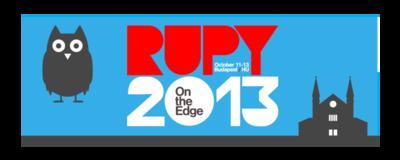 RuPy 2013 image