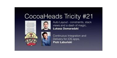 CocoaHeads Tricity #21 - Autolayout & Continous Integration image