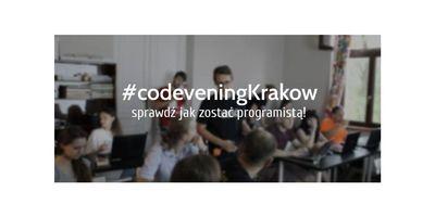 CodeveningKrakow - dobry wieczór z kodowaniem w Krakowie image
