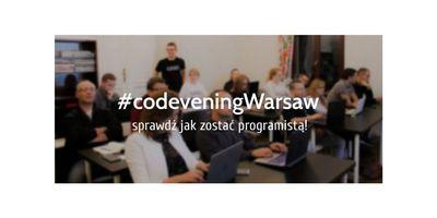 CodevenigWarsaw - dobry wieczór z kodowaniem w Warszawie image