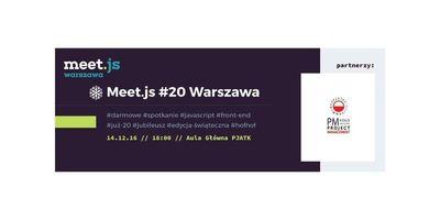 Meet.js #20 Warszawa image