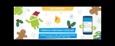 GDG Rzeszów #7 - Firebase Christmas Codelabs image