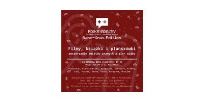Pog(R)adajmy Bielsko-Biała: Game-Xmas Edition 2016! image