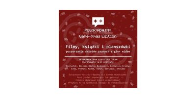 Pog(R)adajmy Kraków: Game-Xmas Edition 2016! image