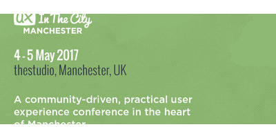 UX in the City: Manchester 2017 image