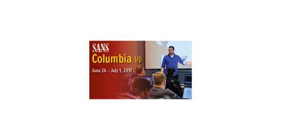 SANS Columbia, MD 2017 image