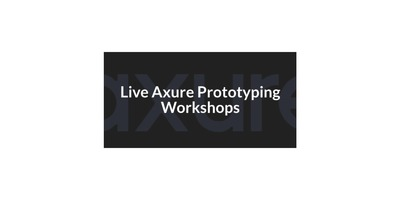 Live Axure Prototyping Workshop image
