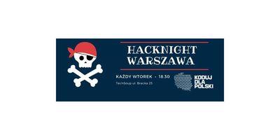 84. Hacknight Warszawa | po 8.04 już nigdy nie będzie tak samo image