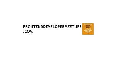 Nederlandse Frontend Developer Meetup image