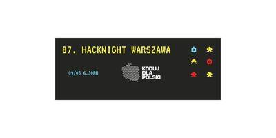 89. Hacknight Warszawa I Praca projektowa image