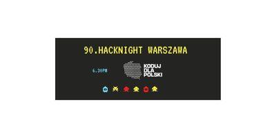 90. Hacknight Warszawa I Praca projektowa image
