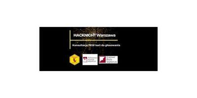 91. Hacknight Wawa: konsultacje PKW kart do głosowania image