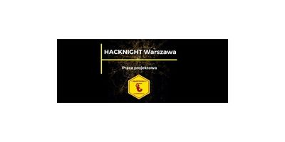93. Hacknight Warszawa I Praca projektowa image