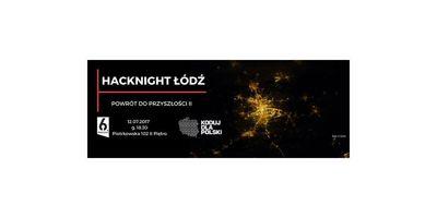 Hacknight Łódź. Powrót do przyszłości II image