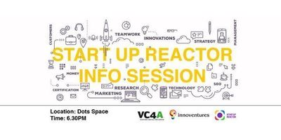 Startup Reactor Info Session image