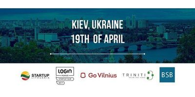 LOGIN Startup Fair & Lithuanian Startup Visa. Kyiv image