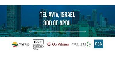 LOGIN Startup Fair & Lithuanian Startup Visa. Tel Aviv image