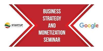 Business Strategy and Monetization Seminar image
