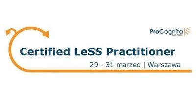 Certified LeSS Practitioner image