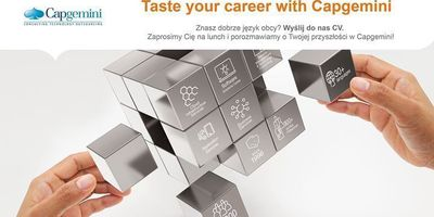 Taste your career with Capgemini image