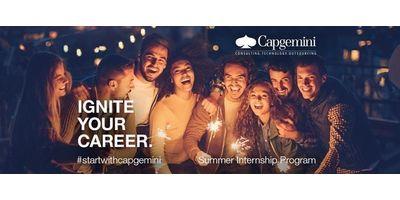 Praktyki Letnie w Capgemini - rekrutacja image