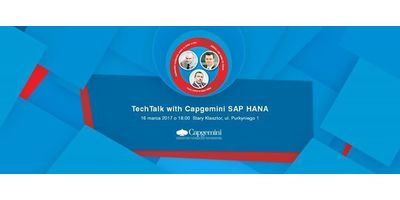TechTalk with Capgemini SAP HANA image