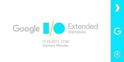 Google I/O Extended 2017 Warszawa image